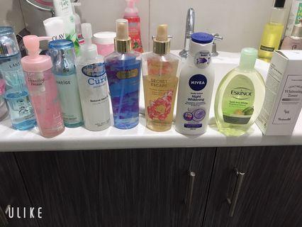 Skin care, make up