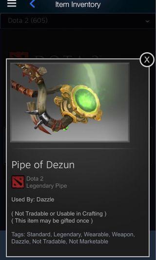 Pipe of dezun
