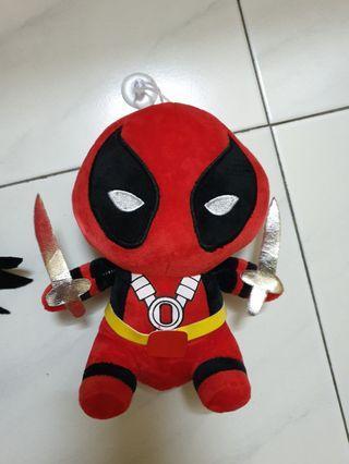Marvel deadpool loki plush