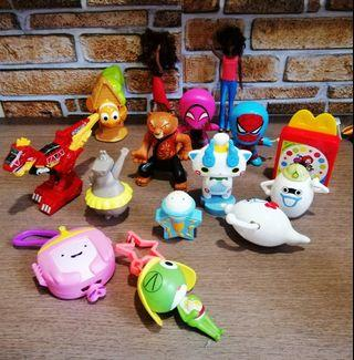 All rm20 include postage Mcdonalds toys