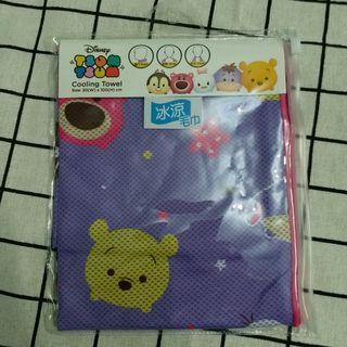 Disney tsum tsum cooling towel冰涼毛巾30cm*100cm