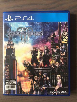 Kingdom Hearts 3 ps4 version