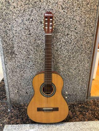 SUZUKI SCG-11 (3/4, 36″) Classical Nylon String Guitar