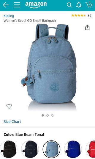 Brand new Kipling Backpack