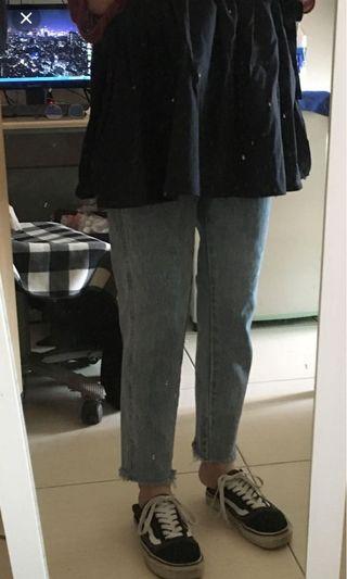 🚚 版型很好看的直筒褲