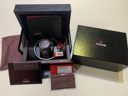 Tudor Fast Rider Black Shield For Sale - BNIB