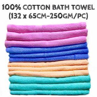 100% BRAND NEW COTTON TOWEL (FROM LOCAL SUPPLIER)