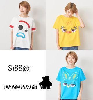 日本迪士尼 toy story 4 新角色衫衫訂購 Disney