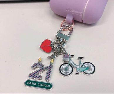 jihoon 21st birthday keychain