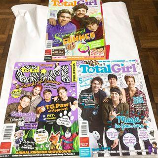 Total Girl Magazines (One Direction & 5SOS/5 Seconds of Summer)