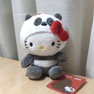 Hello Kitty 公仔掛飾 ✩熊貓