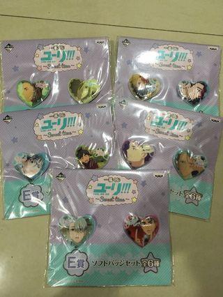 Yuri On Ice Pin Badge