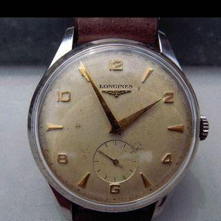 Vintage LONGINES oversized 37mm, S.Steel manual Cal 12.68z