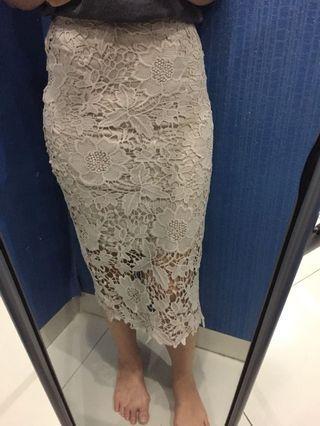 Padini brokat skirt