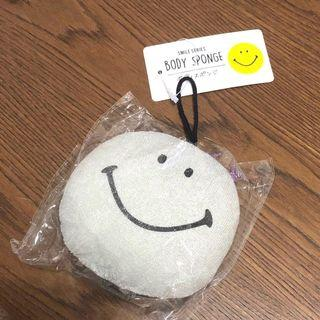 日本 Smiley Body Sponge 沐浴海棉