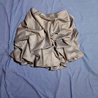tyler grey bustle skirt