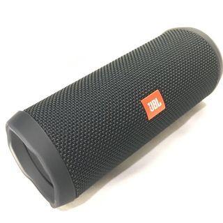 🚚 Flip 4 Black Bluetooth Speaker