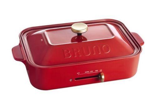 Bruno compact hot plate and grill plate