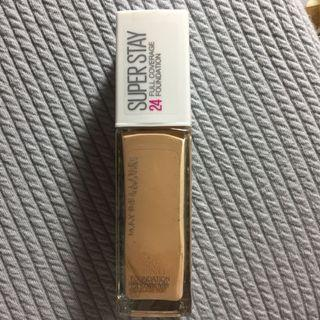 Maybelline Superstay Foundation shade 120 classic ivory