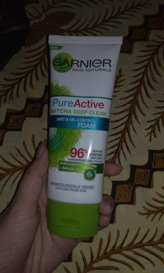 Garnier Pure Active Matcha Deep Clean