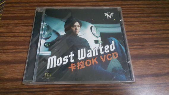 謝霆鋒-Most Wanted卡拉ok vcd