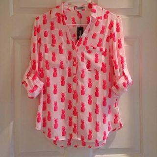 EXPRESS the portofino shirt blouse