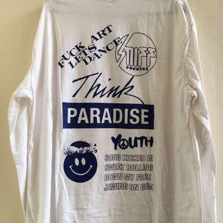 Paradise long sleeve white L