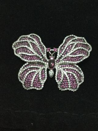 Butterfly Brooch & Pendant ( 2 in 1) design