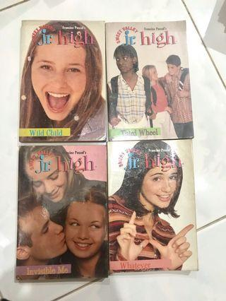 Novel Jr High Sweet Valley by Francine Pascal's