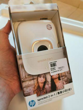 HP Sprocket 2 in 1 (Instant Camera + Printer)