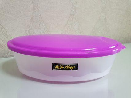 Woh Hup Oval Plastic Container