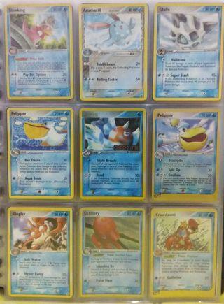 Pokemon Trading Card (2003-2005 edition) - Water Type