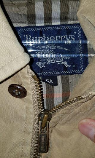 Burberry double furring jacket 100% luxurious authentic