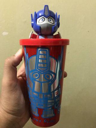 optimus prime water bottle