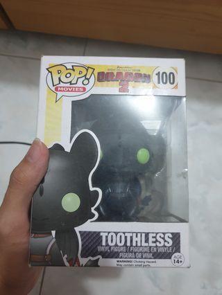 Funko pop Toothless