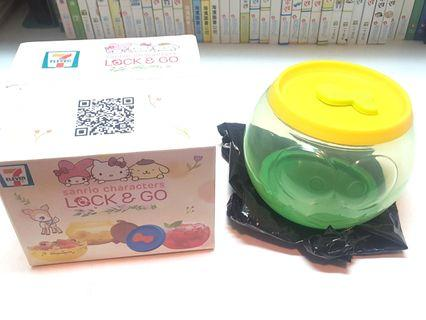 7 11 Sanrio Lock & Go 圓咕Lock 收納盒 3號 Keropi Kerokerokeroppi 青蛙 全新
