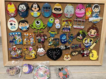 迪士尼襟章 Disney pin trade 迪士尼襟章 交換