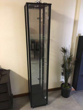 V.hive 7-tier Display Cabinet /Tower w/LED & Mirror 100% NEW
