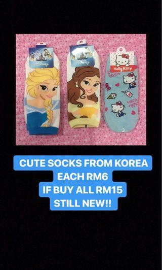 CUTE SOCKS FROM KOREA