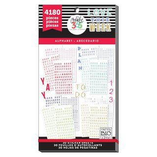 Happy Planner Stickers - Alphabet