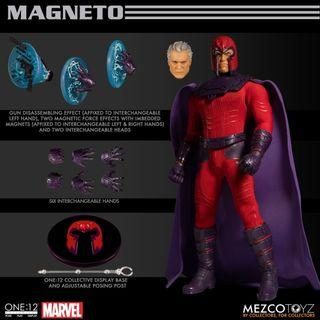 [hktoybox]預訂Mezco One:12 Magneto shf neca mafex marvel dc select x-men