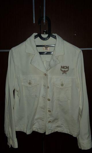 MCM denim jacket excellent condition
