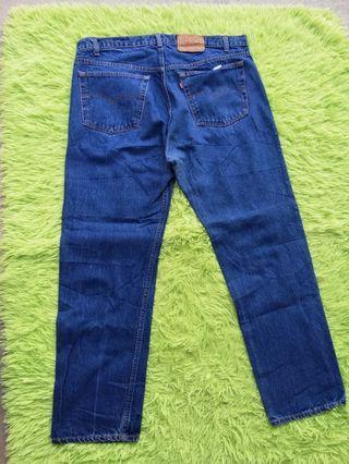 """Vintage Levi's 505 0216 Big Size 41"""" Jeans"""