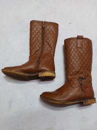ZARA Leather Boot