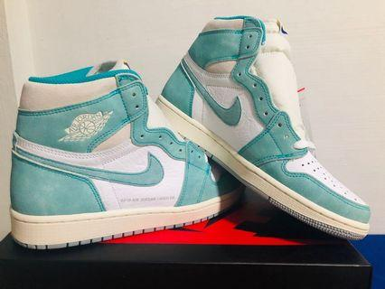 [US8.5] Air Jordan 1 Retro High Turbo Green