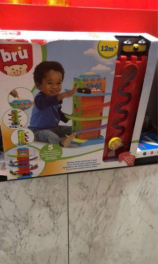 🚚 Bru Wacky Activity Tower