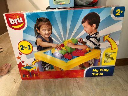 🚚 Bru My Play Table 2 in 1