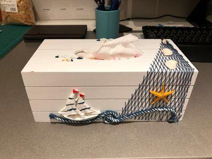 特色紙巾盒 Nautical Tissue Box