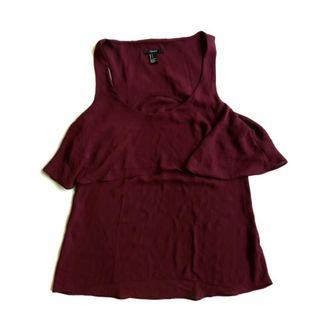 #mauvivo top forever 21
