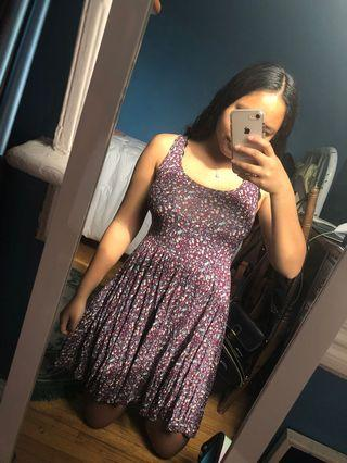 Purple American Eagle dress